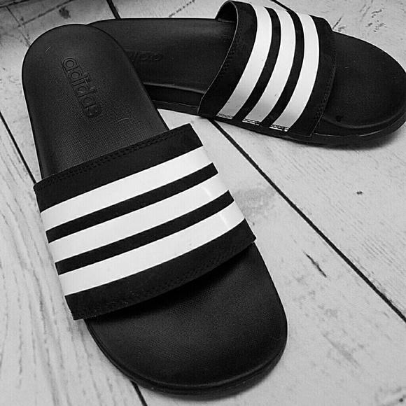109a2a82294a Adidas Adilette slides New size 7